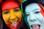Fotos: Fans feiern das Finale der Euro 2012 in Kiew