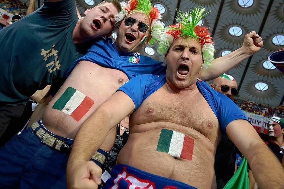 Fans begleiten den großen Showdown. (Foto: AFP)