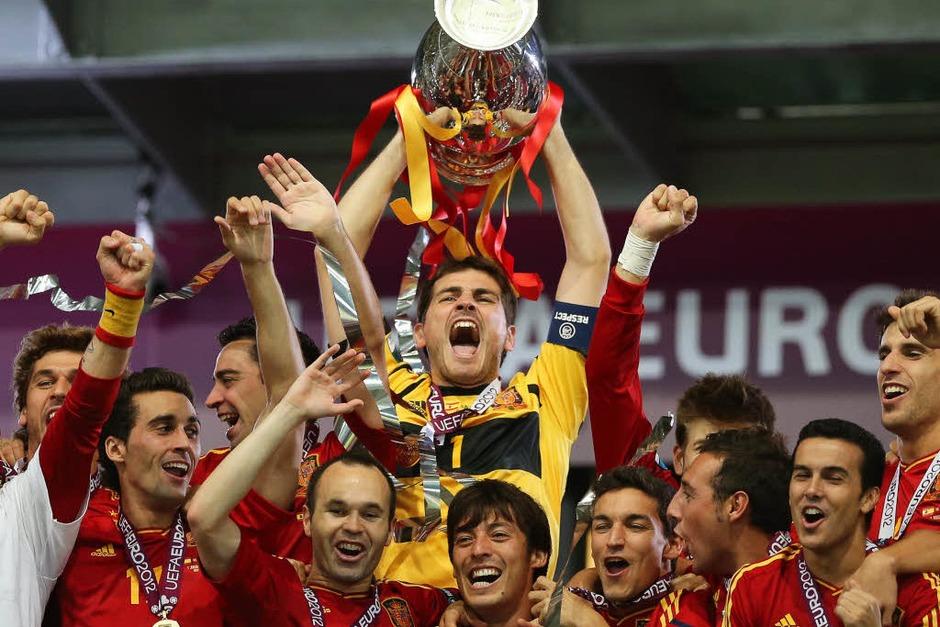 Spanien schafft Titel-Triple (Foto: dpa)