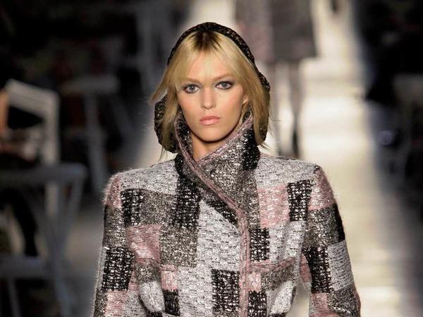 Glitzernder Mantel von Chanel