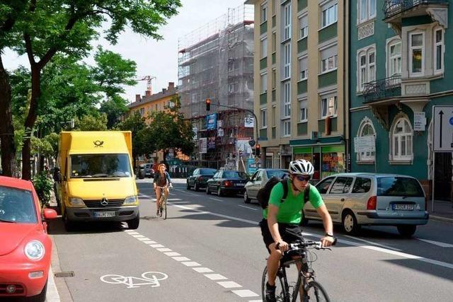 Parkverbot auf Radwegen