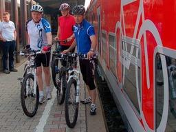 Fahrradmitnahme im Zug