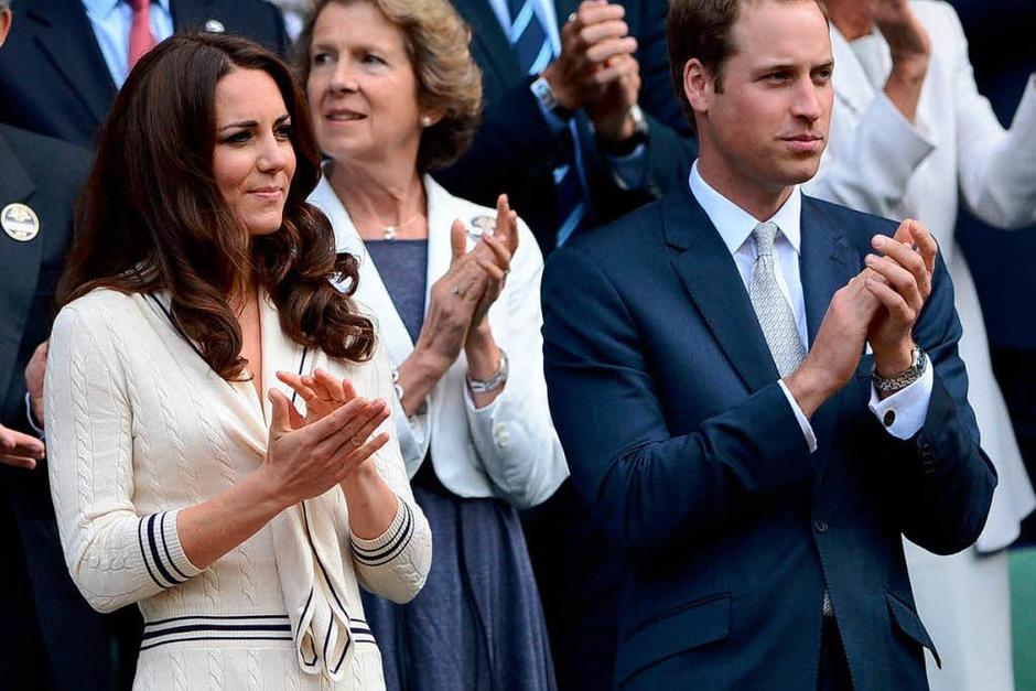 Prinz William und seine Frau Kate (Foto: AFP)
