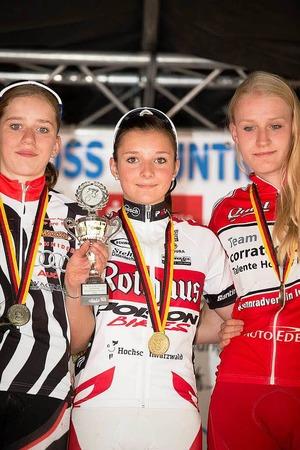 Antonia Daubermann, Kim Riesterer und Lisa Neumüller