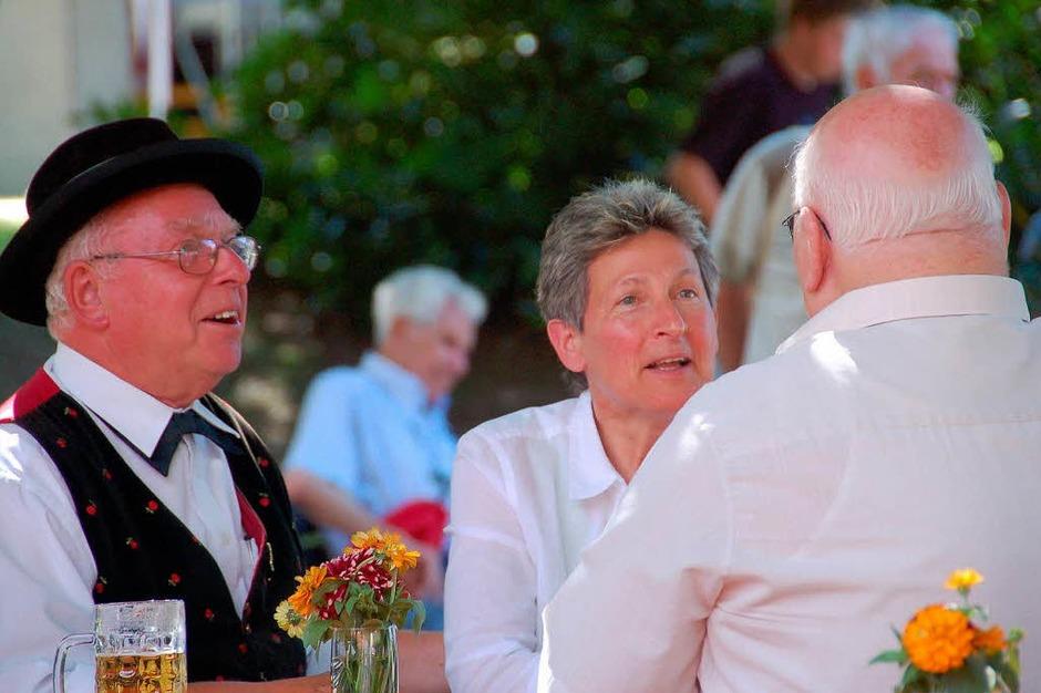 Ein Treffen für Jung und Alt, Neubürger und Einheimische, Kurgäste und Gäste aus der Umgebung (Foto: Frank Kiefer)
