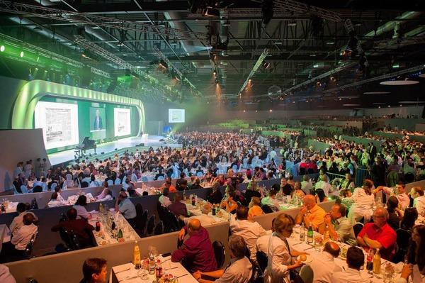 Die Herrenknecht-Gala in der Offenburger Baden-Arena.
