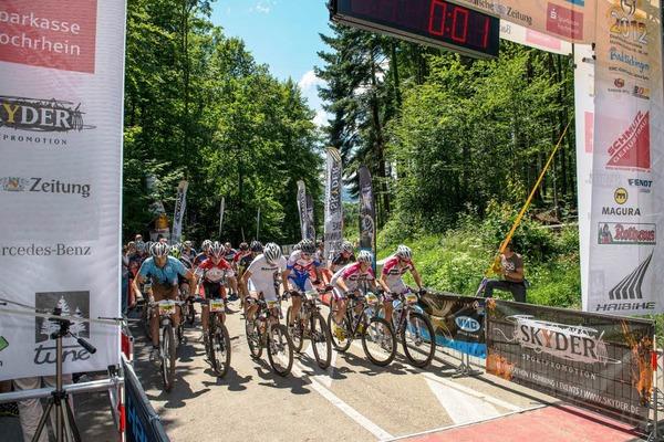 Deutsche Mountainbike-Meisterschaften in Bad S�ckingen
