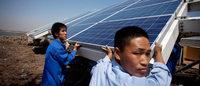 China, die USA und die EU streiten �ber Strafz�lle auf chinesische Solarmodule