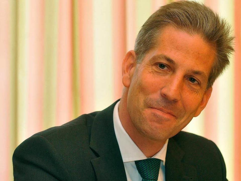 Klaus Schüle, Parteichef der CDU Freiburg.  | Foto: Michael Bamberger