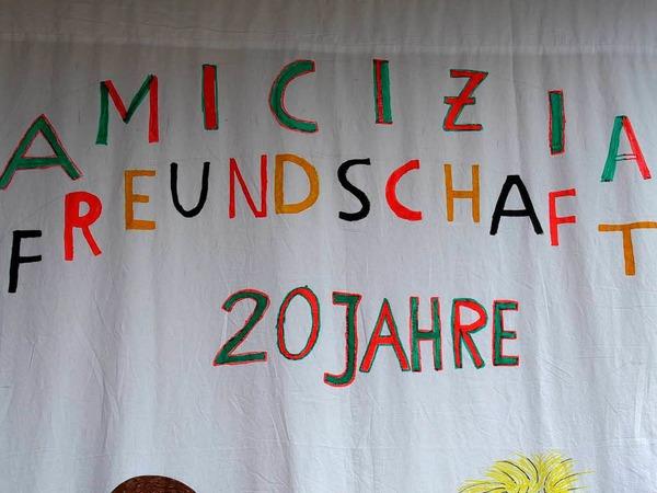 Impressionen vom Partnerschaftstreffen in Schallstadt<?ZP?>