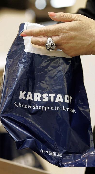 Entwickelt sich nicht zufriedenstellend: Karstadt  | Foto: DAPD