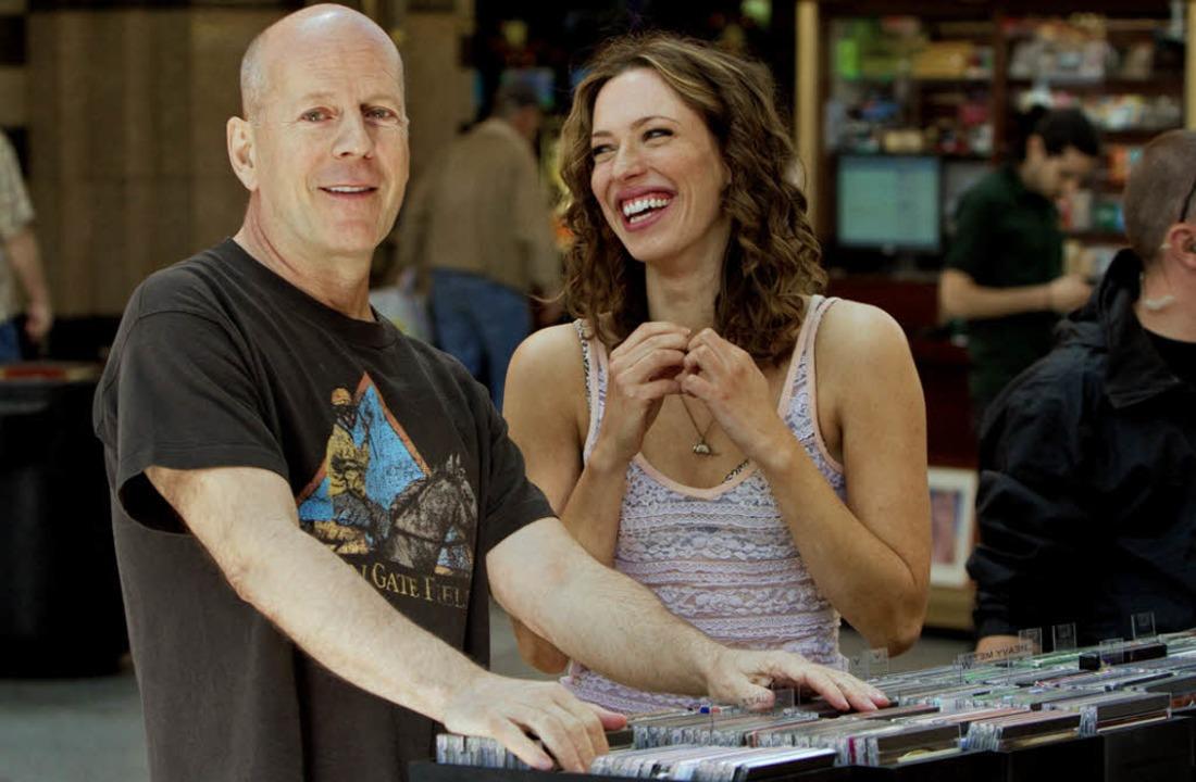 Der Spieler und die Nervensäge: Bruce Willis,  Rebecca Hall   | Foto: dpa