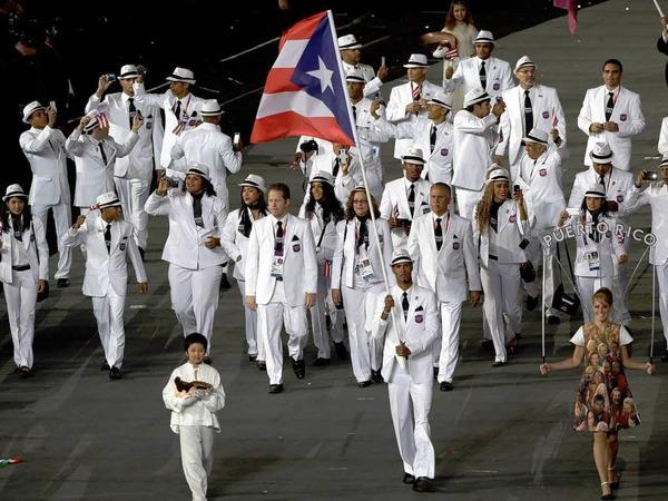 Das Team Puerto Ricos.
