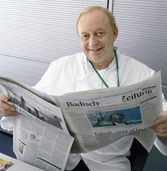 Alfons Schuhbeck im BZ-Gespräch<ppp></ppp>  | Foto: Cornelia Weizenecker