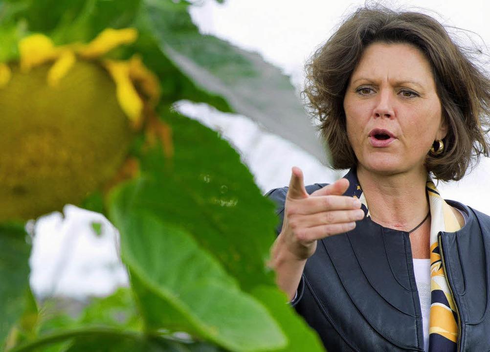 Will Planungssicherheit für die Landwirte: Ministerin Ilse Aigner, 48    Foto: dpa