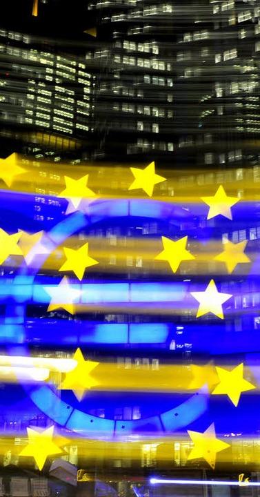 Krisenwährung Euro    Foto: DPA