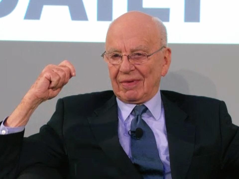 "Rupert Murdoch bei der ""Daily""-Ankündigung im Februar 2011  | Foto: IDG"