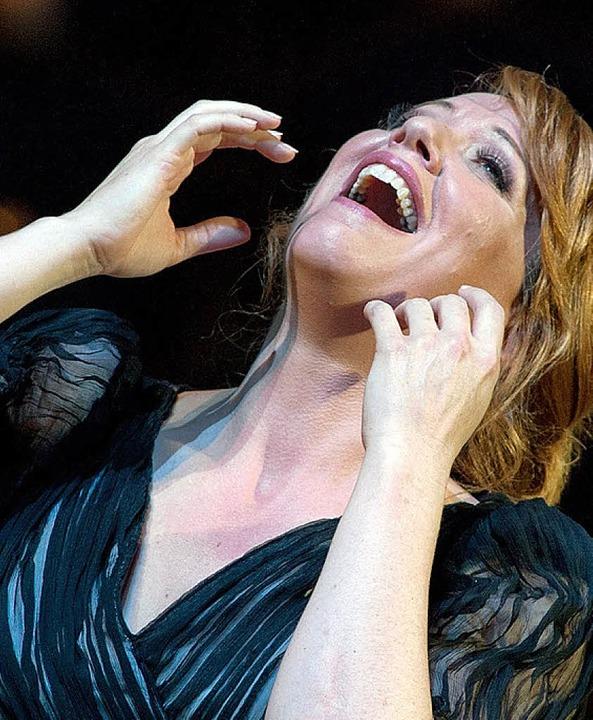 Berührend: Emily Magee als Primadonna/Ariadne  | Foto: Ruth Walz