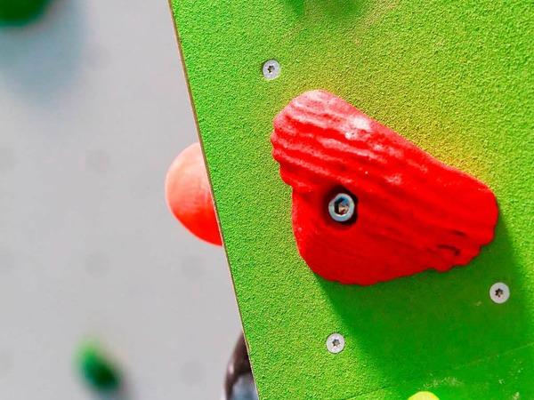 Der Kletterbetrieb beim DAV Freiburg ist gestartet.