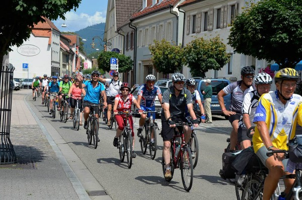 Tour de Lndle in Waldkirch