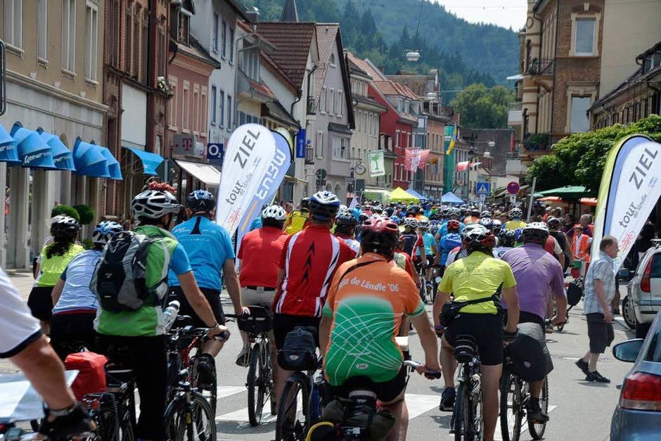Tour de Ländle in Waldkirch (Foto: Sylvia Timm)