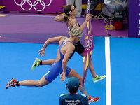 Triathlon: Svenja Bazlen auf Rang 32 – Fotofinish um Gold