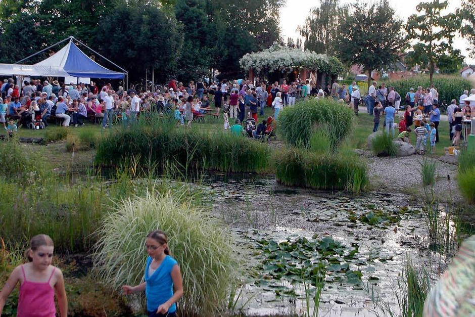 Fröhliches, beschwingtes Bachpromenadenfest in Meißenheim (Foto: Heidi Foessel)