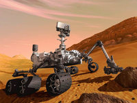 Curiosity: 3D-Kamera vom Bodensee half bei Landung