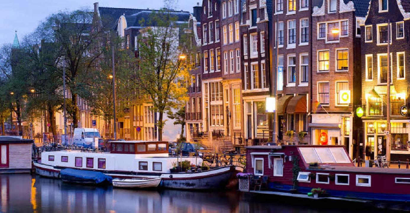 Eine Stadt für Liebende:  Amsterdam  s...e wichtige Rolle in John Greens Roman.    Foto: fulgido (fotolia.com)