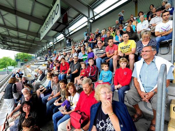 Die Teilnehmer der BZ-Ferienaktion bekommen einen exklusiven Überblick über das Stadion, in dem der SC Freiburg trainiert, spielt und (hoffentlich) gewinnt.