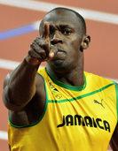 Usain Bolt – und noch ein Himmelsst�rmer