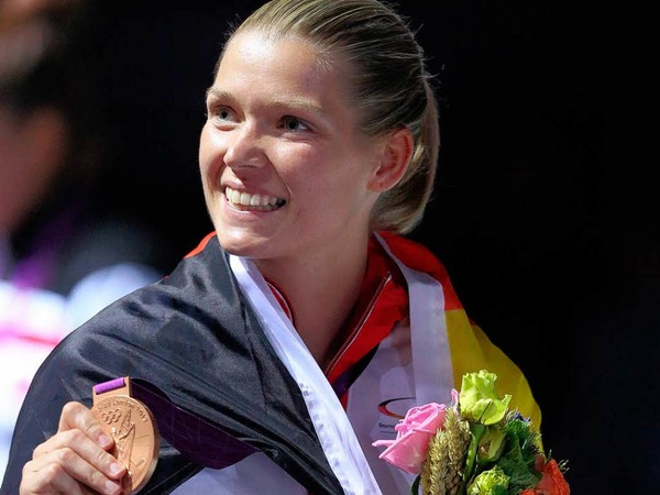 Helena Fromm konnte sich ber eine Bronzemedaille im Taekwando  freuen, mit der kaum einer gerechnet hatte.