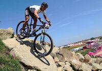 Mountainbikerin Sabine Spitz gewinnt Olympia-Silber