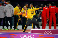 Bolt und Jamaika holen sich Gold in Weltrekordzeit