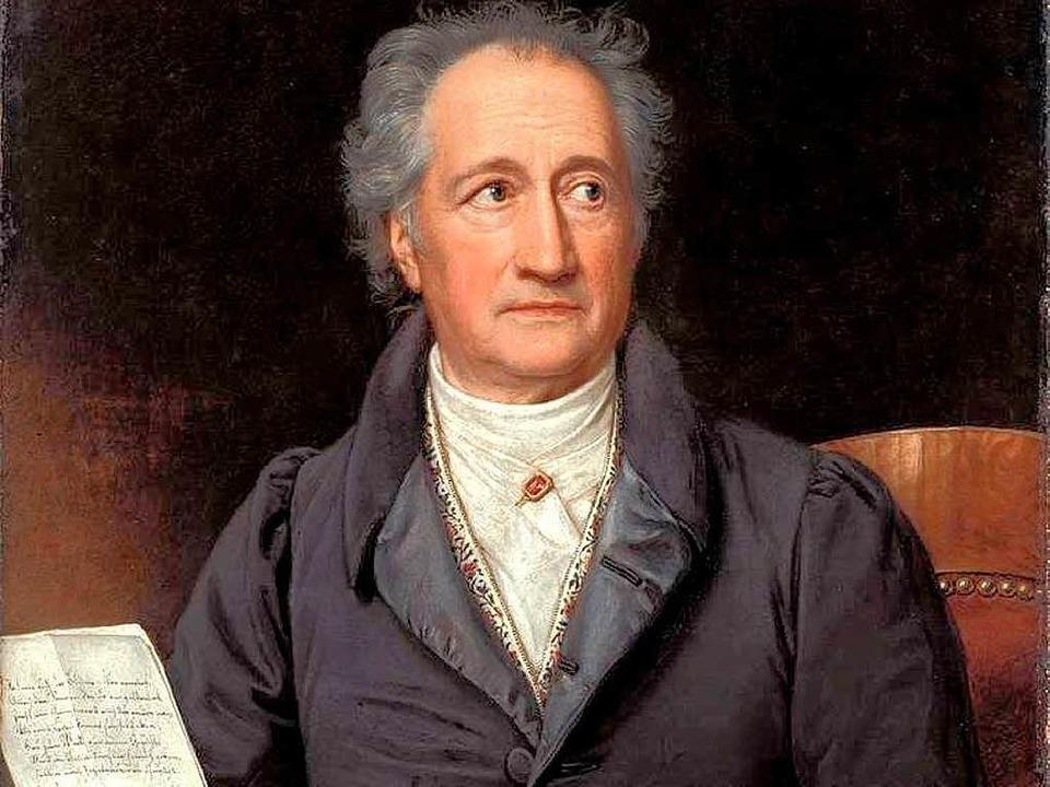 Es gibt in Emmendingen eine Verbindung zu Johann Wolfgang von Goethe.   | Foto: Pro