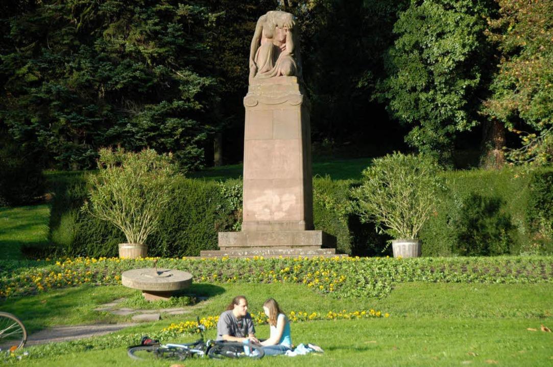 Sonne tanken im Emmendinger Stadtgarten.   | Foto: Marius Alexander