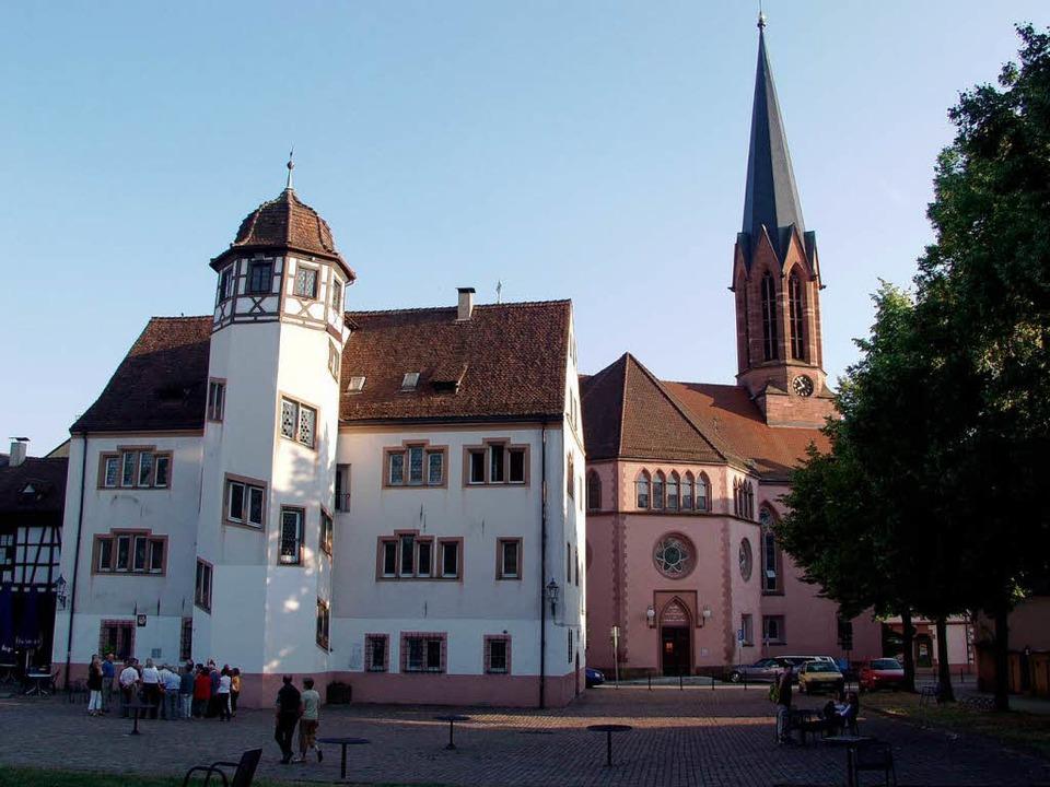 Das Markgrafenschloss in Emmendingen.  | Foto: Jürgen Truöl