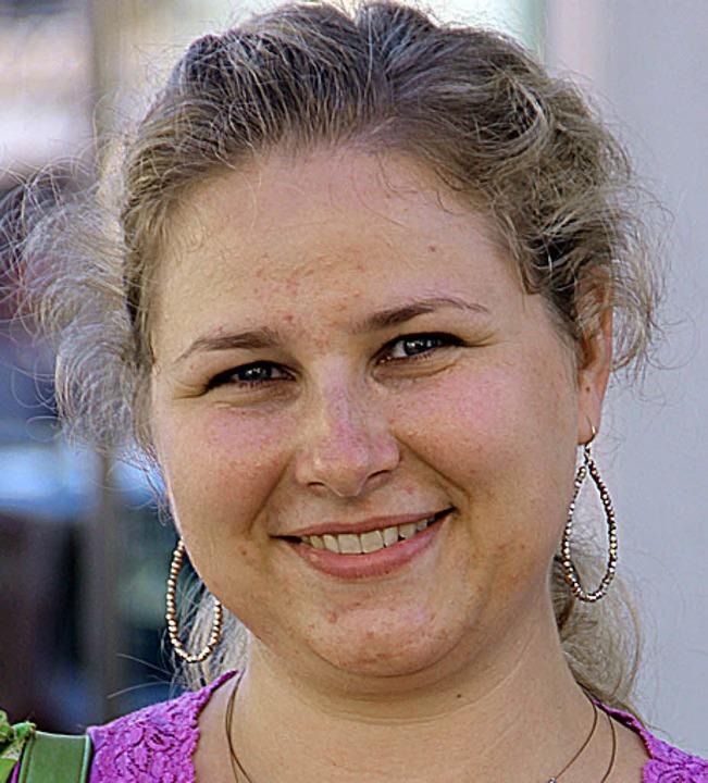 <fett>Hannah Oesterle</fett> (stellt s... Spaß werden wir auf jeden Fall haben.  | Foto: Erika Sieberts