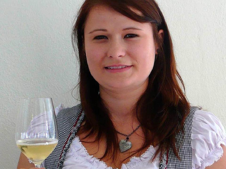 Wohl bekomm's: Nicole Grafmüller...n als neue Breisgauer Weinprinzessin.   | Foto: Laila Moscatiello