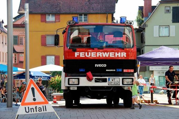 Impressionen vom Mitmachtag der Feuerwehr.