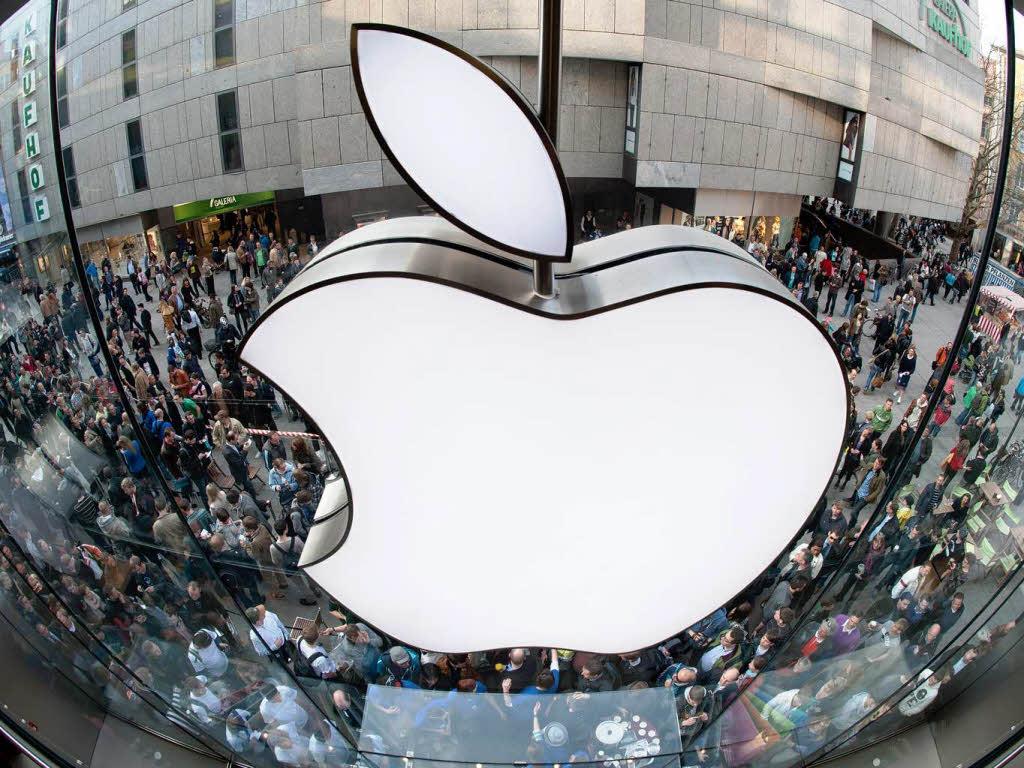 Das wertvollste unternehmen aller zeiten apple foto dapd