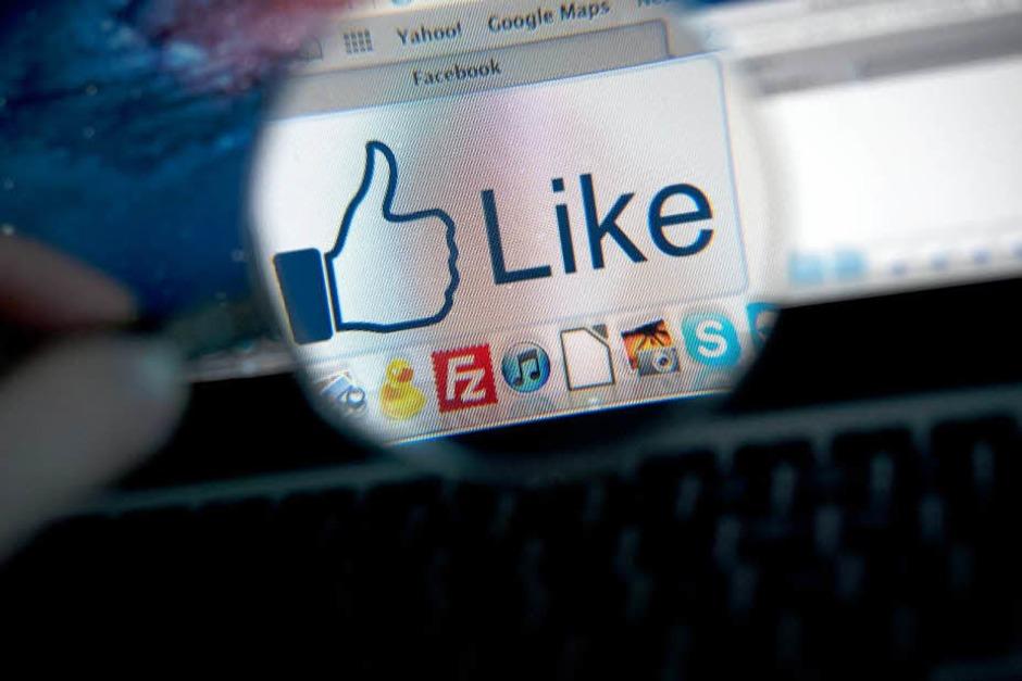 Täglich werden bei Facebook 2,7 Milliarden Likes verarbeitet. (Foto: dapd)