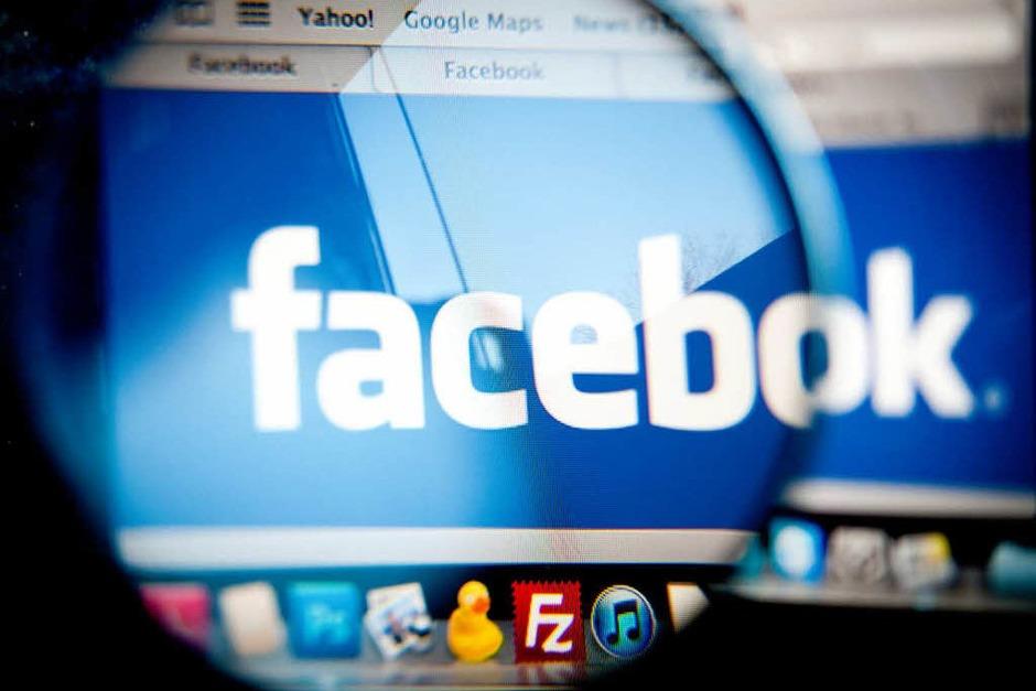 Bei Facebook fallen alles in allem täglich 500 Terrabyte an Daten an. (Foto: dapd)