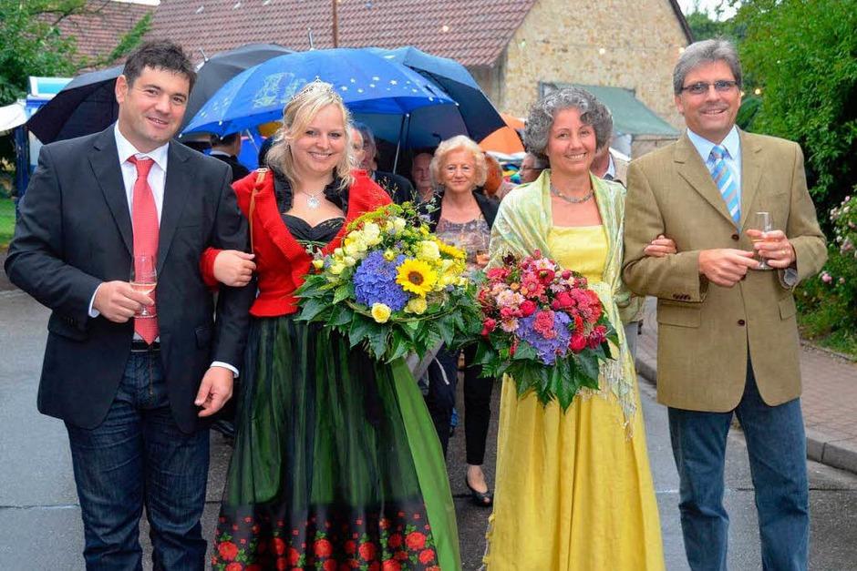 Impressionen vom Weinfest in Wolfenweiler (Foto: Tanja Bury)