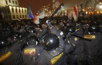 Innenministerium: Keine Schlagstöcke für Weißrussland