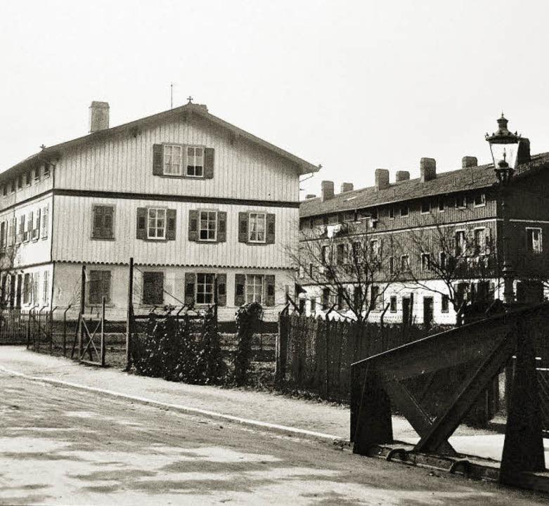 Der westliche Teil der Freiau im Jahr ... Heinrich-von-Stephan-Straße geworden.  | Foto:  Stadtarchiv