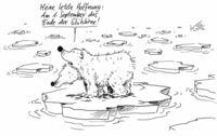Dramatische Eisschmelze in der Arktis. . .