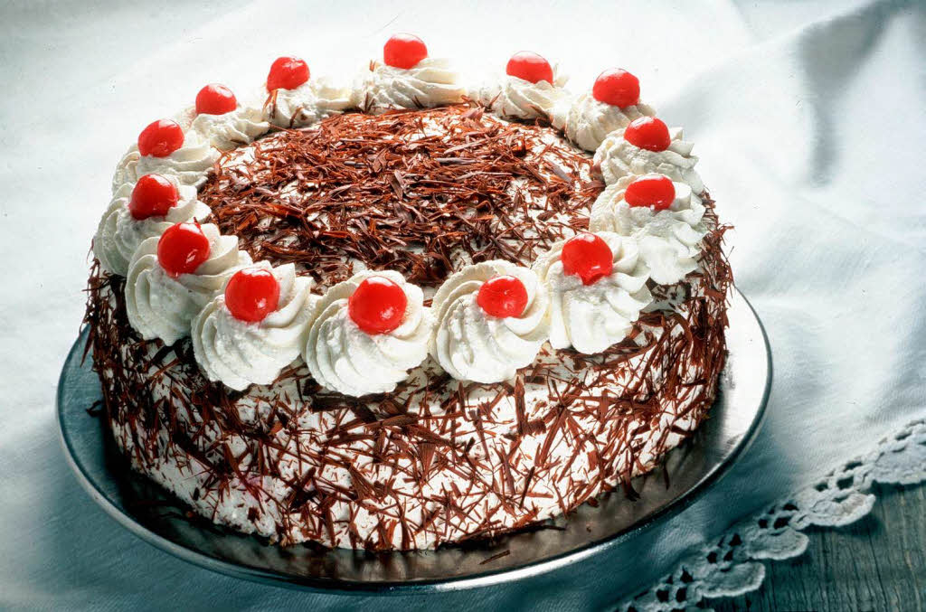 What Is A Traditional Black Forest Cake