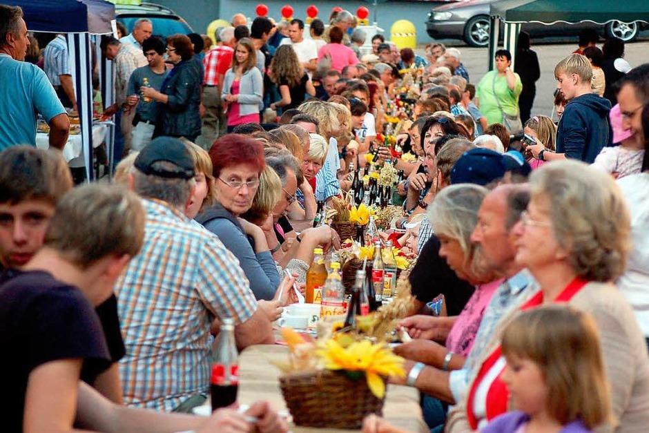 Jede Menge Spaß hatten die Besucher beim Hördöpfelfäscht in Rickenbach. (Foto: Hildegard Siebold)