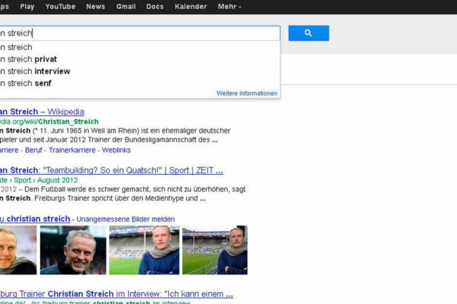 Christian Streich, Trainer des SC Freiburg, will seinen Senf nicht zu allem dazugeben. Weil er aber schon mal in einer Pressekonferenz über Mostrich gesprochen hat, hat er jetzt den Salat. (Foto: Screenshot BZ)